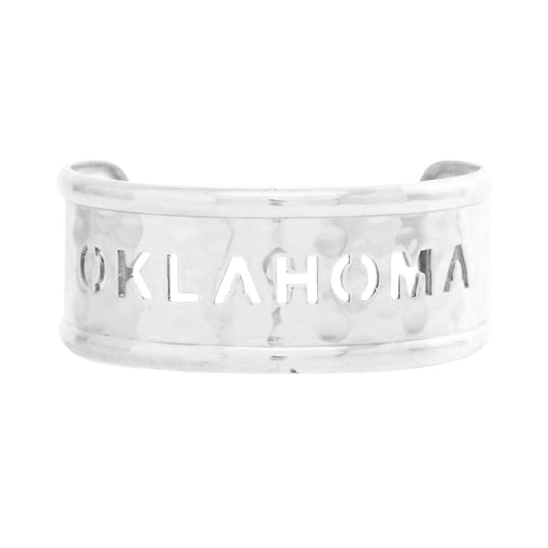 Rimmed Quote Oklahoma Silver