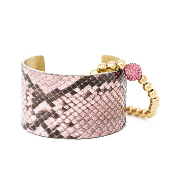 Tickle Me Pink 1.5 Python Duo – Gold and Pink Ireland