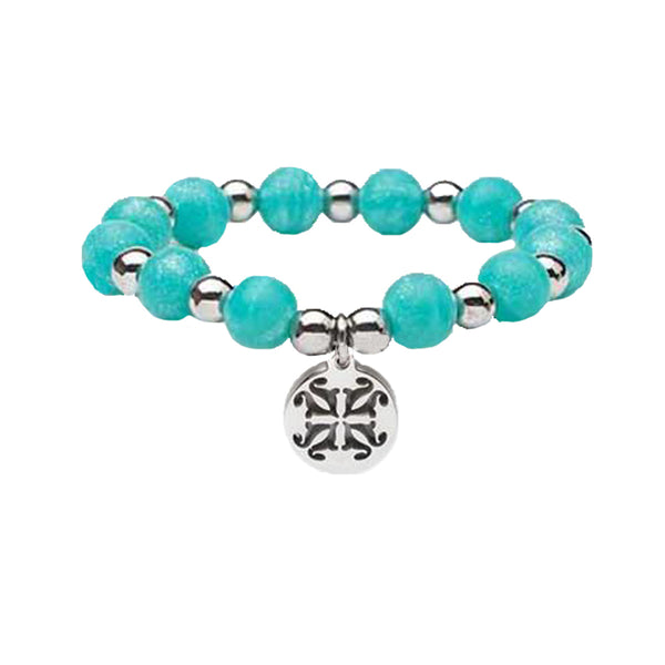 RC Girls Erin Pearlized Turquoise with Silver