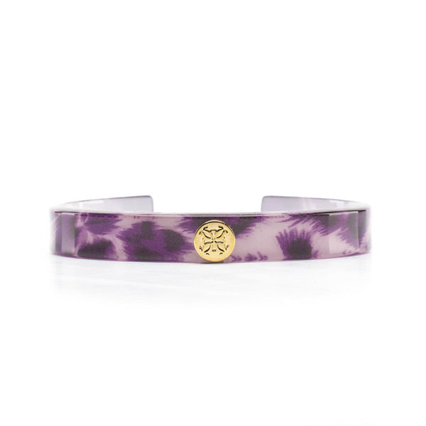 Summer Leopard Purple with Gold
