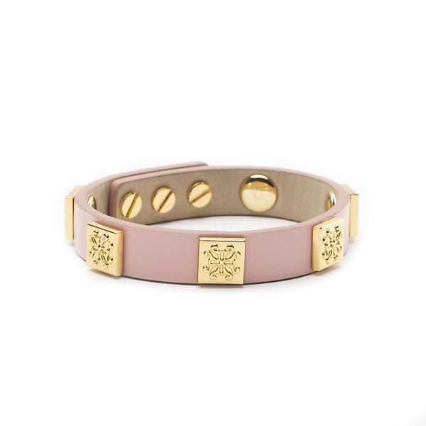 Meagen Single Patent Light Pink with Gold