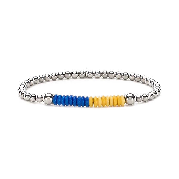 Liz Collegiate Cobalt/Bright Yellow - Silver