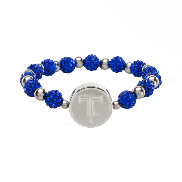 "Brandi Iconic ""Drillers T"" - Cobalt with Silver"