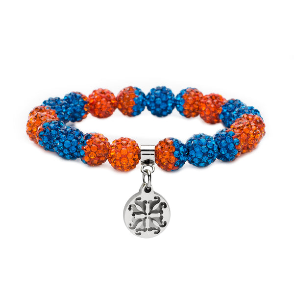 Emerson Game Day Orange/Blue - Silver