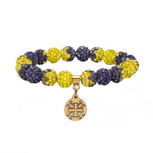 Emerson Game Day Purple/Yellow - Gold