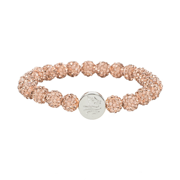 Baptism Dove/Water Rose Gold - Silver