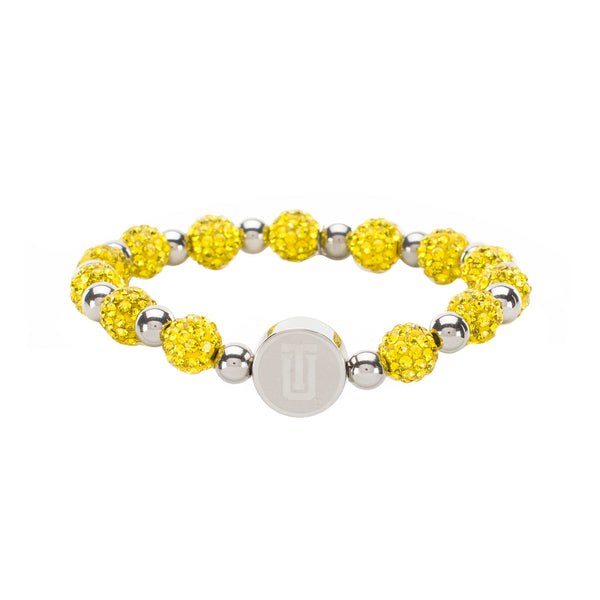"Brandi Iconic ""TU"" - Yellow with Silver"