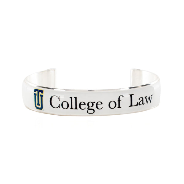 Art Deco .5 TU College of Law White with Black