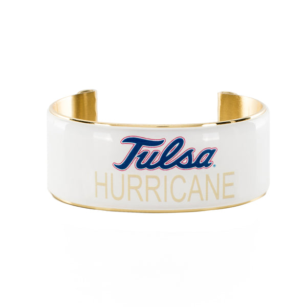 Art Deco 1.0 Tulsa Hurricane White with Royal Blue/Old Gold