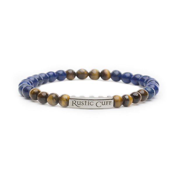 RC Men's John - Beaded Lapis Tigers Eye