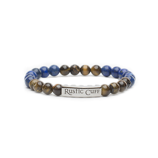 RC Boys Johnny - Beaded Lapis Tigers Eye