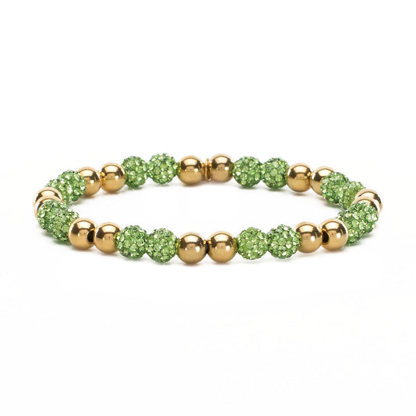 Arlene Lime Green - Gold