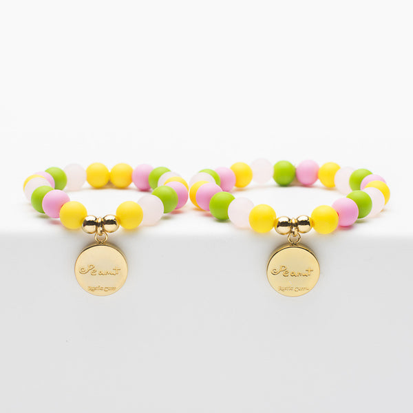Mommy and Me Peanut Signature - Candy with Gold