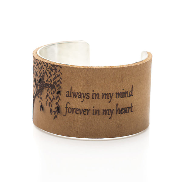 "Always In My Mind... - 1.5"" Silver"