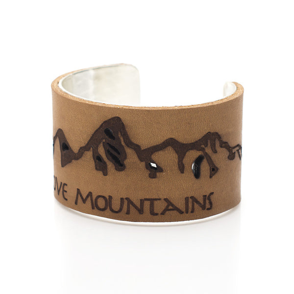 "Move Mountains - 1.5"" Silver"