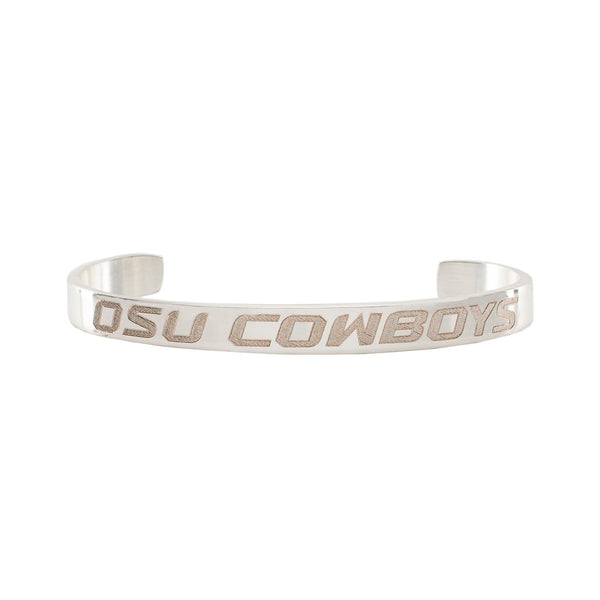 .25 Engraved OSU Cowboys - Silver
