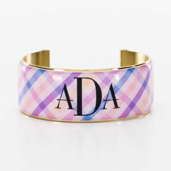 Art Deco 1.0 - Soft Plaid Pink/Purple