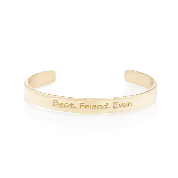 Quote .25 Best. Friend. Ever. - Gold