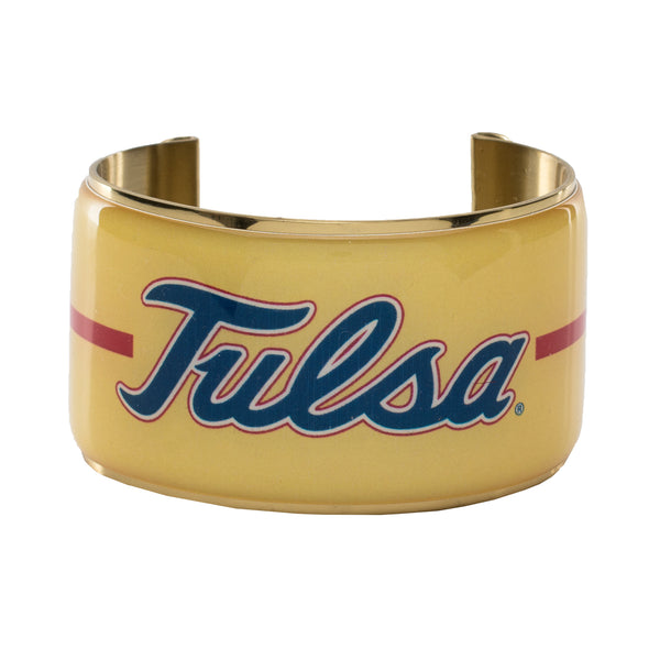 Art Deco 1.5 Tulsa/ Yellow Background - Gold