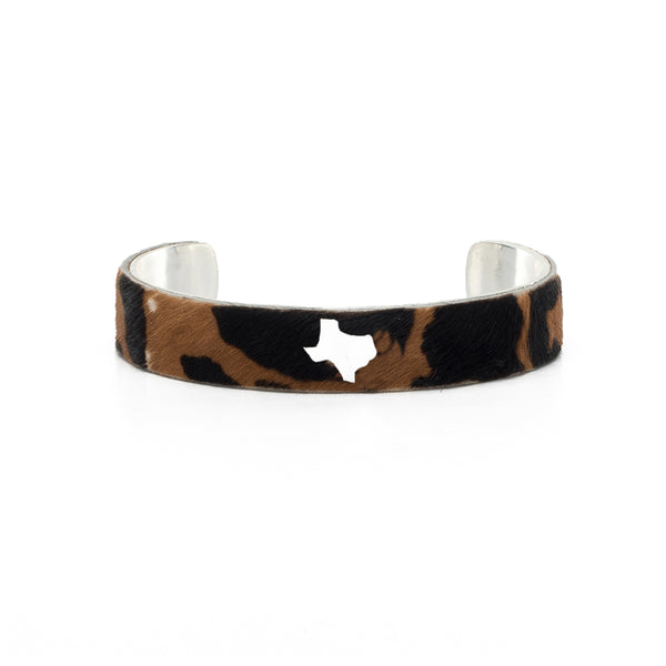 Calfskin Texas Cut Out .5 - Serengeti Plains