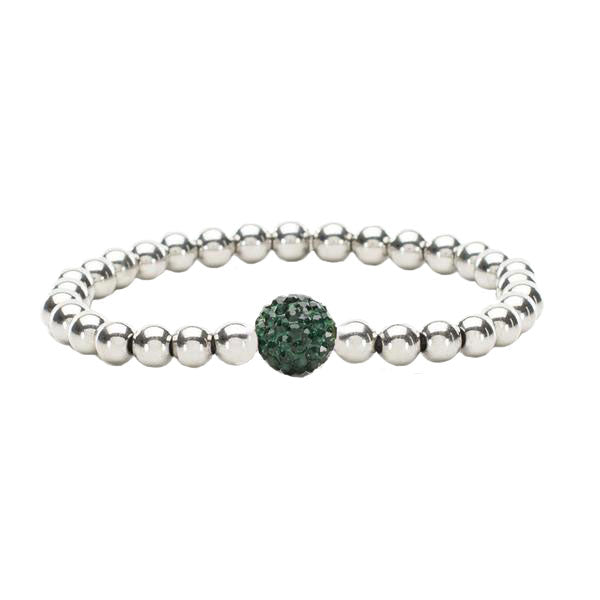 Ireland Silver with Emerald