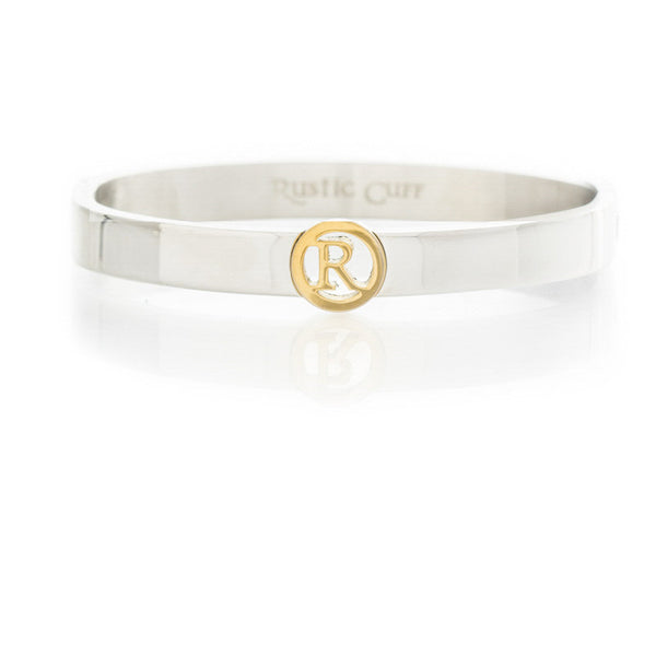 Suzanne Initial Bangle - R