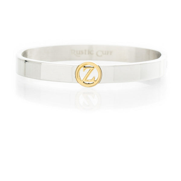 Suzanne Initial Bangle - Z