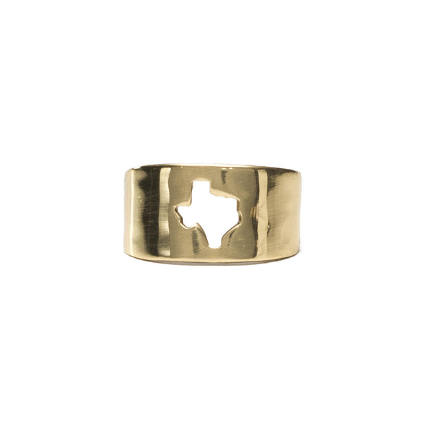 RC Texas Cut Out Ring - Gold
