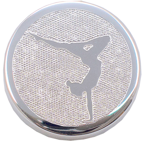 Erin Custom Sports and Activities Silver Pendant