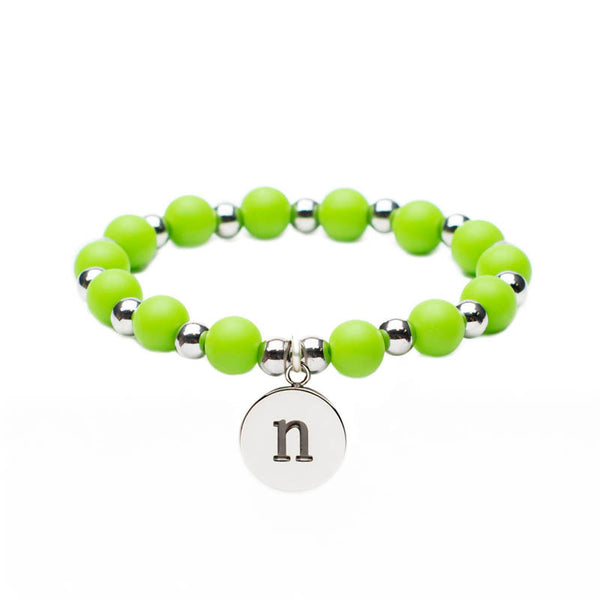Erin Initial Lime Green (A-Z)