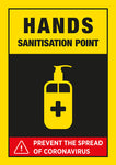 CVB4 Hygiene Poster - Coronavirus Hand Sanitisation Point Poster