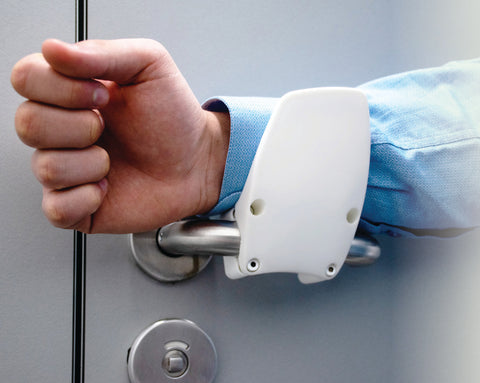 Anti-Microbial Hands Free Door Openers