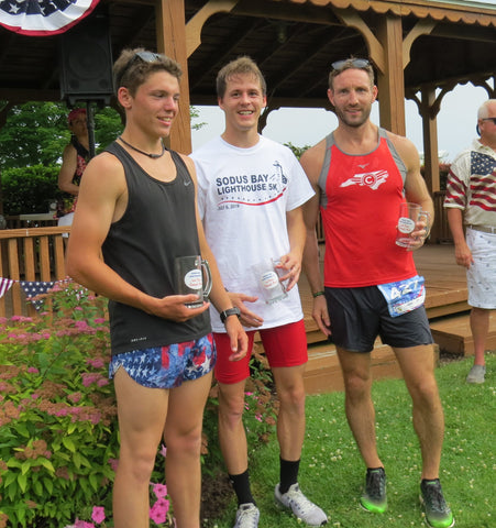 Top Male Finishers in the 2019 Sodus Bay Lighthouse 5-K Run