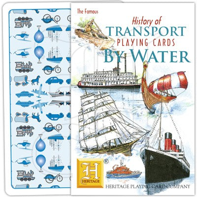 History of Transport by Water Playing Cards