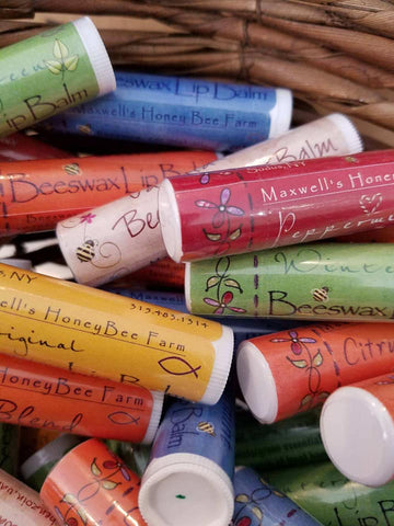 Beeswax Lip Balm in 7 varieties