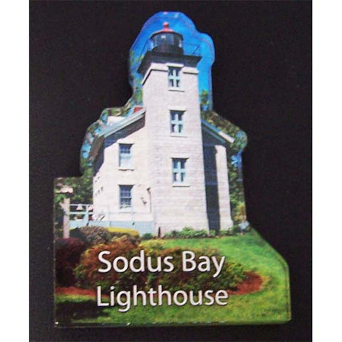 Acrylic Magnet of Sodus Bay Lighthouse
