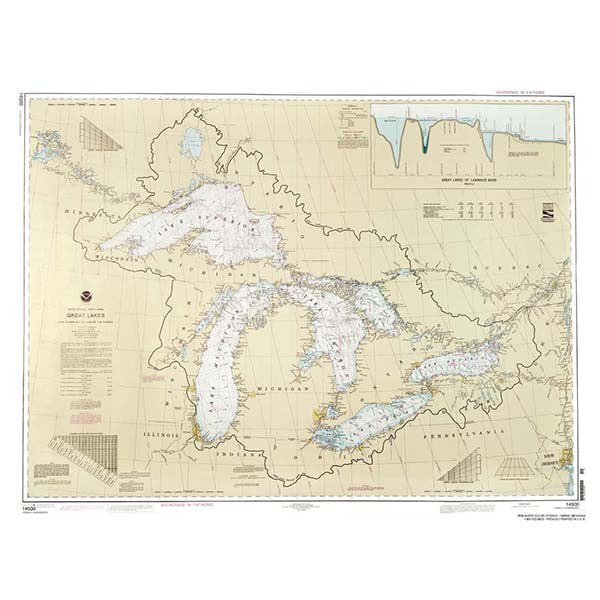 Great Lakes Chart