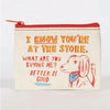 Coin Purse--At the Store