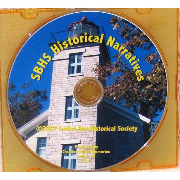 Sodus Bay Historical Society Historical Narratives DVD