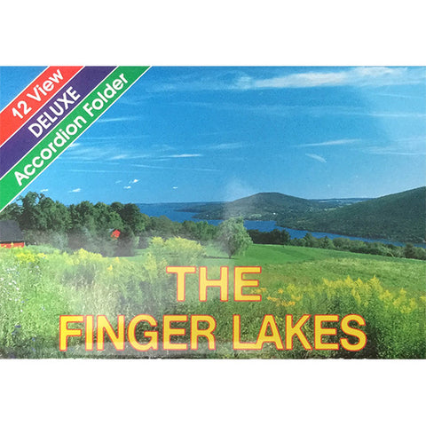 Finger Lakes 12-View  Accordion Folder
