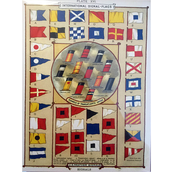 International Signal Flags Poster