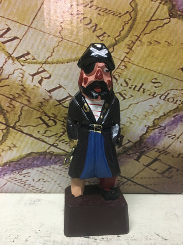 Pirate Wooden Figure