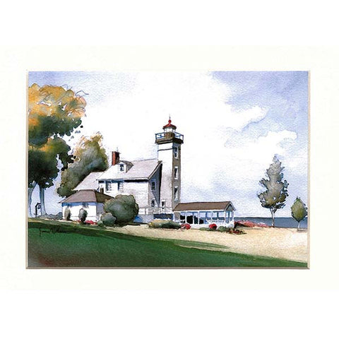 Sodus Bay Lighthouse Matted Prints