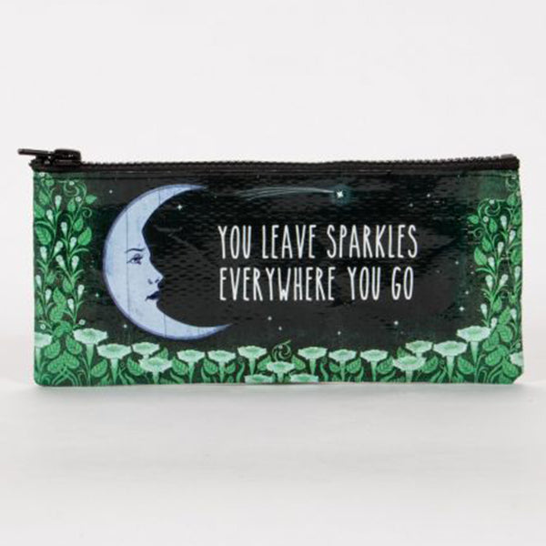 Pencil Case--You leave sparkles