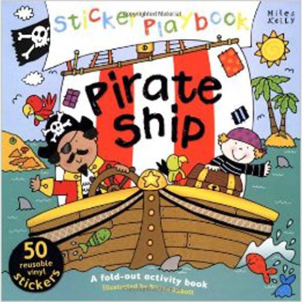 Pirate Ship Sticker Playbook