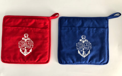 Sodus Bay Lighthouse Pot Holders