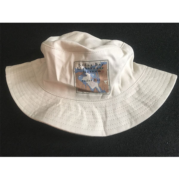 Unisex Sun Hat with Chart of Sodus Bay