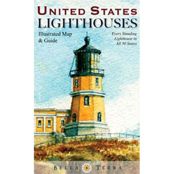 United States Lighthouses Map (Cover)