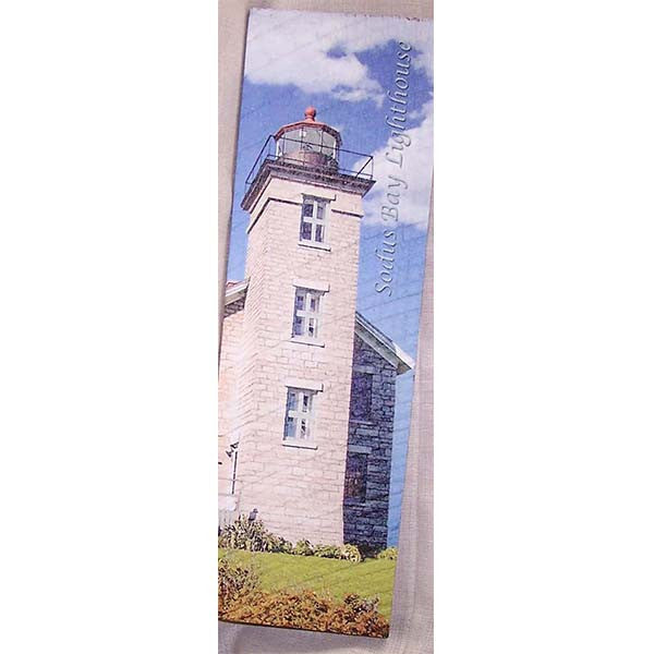 Wood Art Sodus Bay Lighthouse--Summer