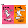 Zipper Pouch--Cats and Dogs